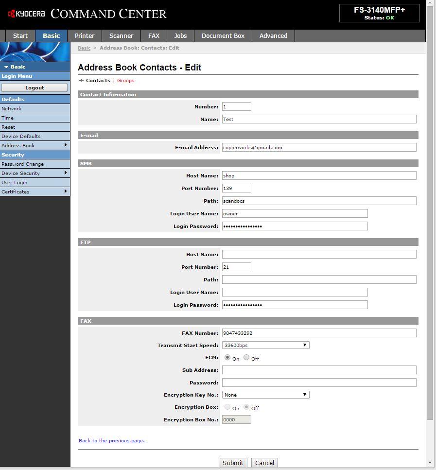 Kyocera User Guides - Copier Works Jacksonville, FL | (904